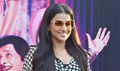 Vidya Balan promotes Dirty Picture at the races