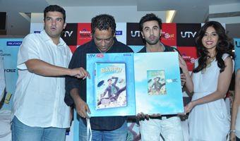 Ranbir And Ileana at Barfi DVD Launch