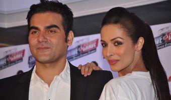 Malaika Arora Khan & Arbaaz Khan At Gillette Promotional Event