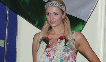 Paris Hilton In Orphanage And Meet With Children