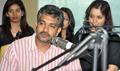 Rajamouli at Radio Mirchi for Eega Promotion