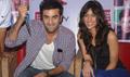 Ranbir and ileana promote Barfi at CCD