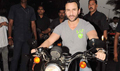 Saif takes a bike ride to promote Agent Vinod