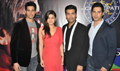 Student of the Year Cast on Sets of KBC