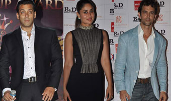 Hrithik, Kareena And Salman At Bharat N Dorris Makeup Awards