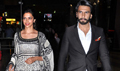 Deepika And Ranveer Return From Delhi