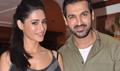 Nargis And John Promotes Madras Cafe At A Special TV Shoot