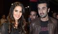 Ranbir And Sunny Leone At Besharam Screening