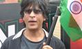 SRK promotes CE At Mumbai Theatres