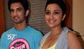 Sushant And Parineeti Chopra Promote Shuddh Desi Romance