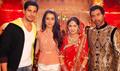 Ek Villain Cast Visit The Sets Of Kumkum Bhagya