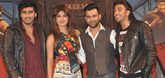 Salman and Daisy Promote 'Jai Ho' on the sets of Nach Baliye 6