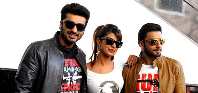 Gunday Movie promotion At Welingkars Institute