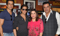 HNY Cast Visits Mumbai Theatre To Meet Fans