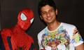 Actor Jiiva Unveils Spiderman At Forum Mall