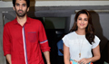 Parineeti And Aditya Snapped At Red FM For Daawat-E-Ishq