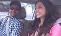Irrfan And Deepika Padukone Snapped Shooting for Piku