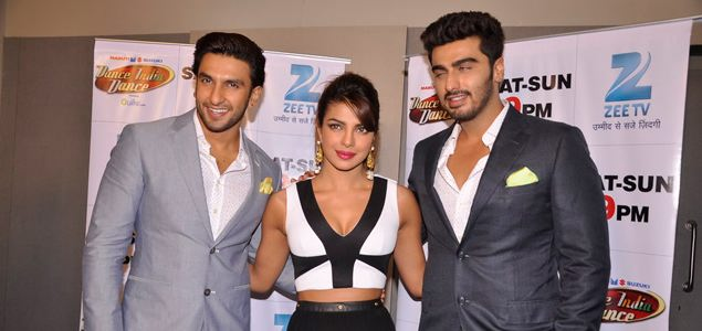 Promotion of 'Gunday' on Dance India Dance