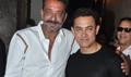 Sanjay Dutt Watches PK With Aamir Khan