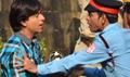 Shahrukh Khan Shoots For FAN Outside Mannat