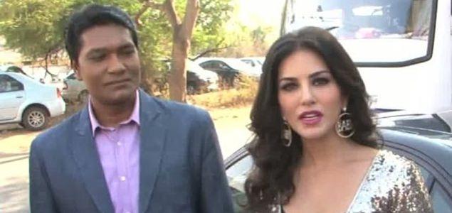 Sunny Leone Promotes Ragini MMS 2 On The Set Of CID