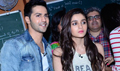Varun And Alia Promote HSKD At HR College