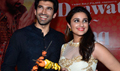 Aditya And Parineeti Launch Daawat-e-Ishq First Look