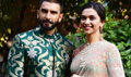 Ranveer & Deepika Snapped At Bajirao Mastani Promotions