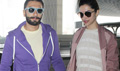 Ranveer And Deepika Depart For Bajirao Mastani Promotions In lucknow
