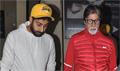 Amitabh Bachchan & Abhishek Bachchan snapped at PVR Juhu post 'Mad Max Fury' screening