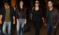 Dilwale Cast Departs For London Promotions