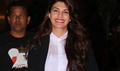 Jacqueline Fernandez Returns From Dubai Roy Premiere