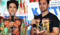 Imran And Kangna Promote Katti Batti At MMK College