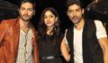 Ali Fazal, Gurmeet Choudhary, Sapna Pabbi At Khamoshiyan Promotions