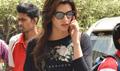 Kriti Sanon Returns From Dilwale Hyderabad Shoot