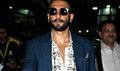 Ranveer Singh Arrives Back From Bhopal Bajirao Mastani Promotions