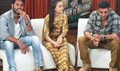 Akshay, Amy And Prabhu At Singh Is Bliing Promotions