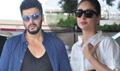 Arjun Kapoor And Kareena kapoor Depart For Dubai Ki And Ka Shoot