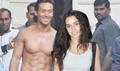 Tiger Shroff And Shraddha Kapoor Snapped At Baaghi Photoshoot
