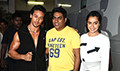 Tiger Shroff and Shraddha Kapoor at Baaghi Promotions