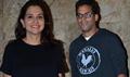 Vikramaditya Motwane And Anupama Chopra At The Screening of 'Carol'