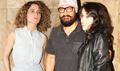 Kangna Ranaut, Aamir Khan & Ira Khan snapped post 'Dangal'screening