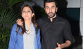Ranbir Kapoor and Anushka Sharma arrive from Chandigarh ADHM promotions
