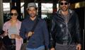 Airport spotting 'Rock On!! 2' starcast returns from Delhi
