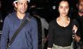Farhan and Shraddha return from Shillong shoot of rock on 2