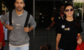 Varun Dhawan and Alia Bhatt return from singapore schedule of Badrinath Ki Dulhania