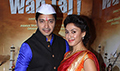 Shreyas Talpade & Manjari Fadnis promote Wah Taj