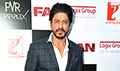 Shah Rukh Khan at Fan media meet in Delhi