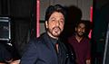 Shah Rukh Khan snapped promoting 'Fan' on sets of the Marathi serial 'Chala Hawa Yeu Dya'