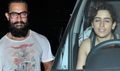 Aamir Khan and Sanya Malhotra snapped post their dance practice for their film Secret Superstar
